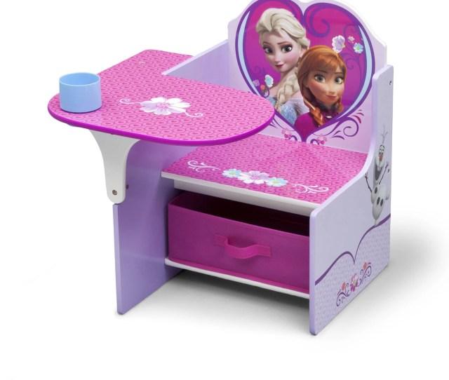 Disney Frozen Chair Desk With Storage Bin By Delta Children Walmart Com