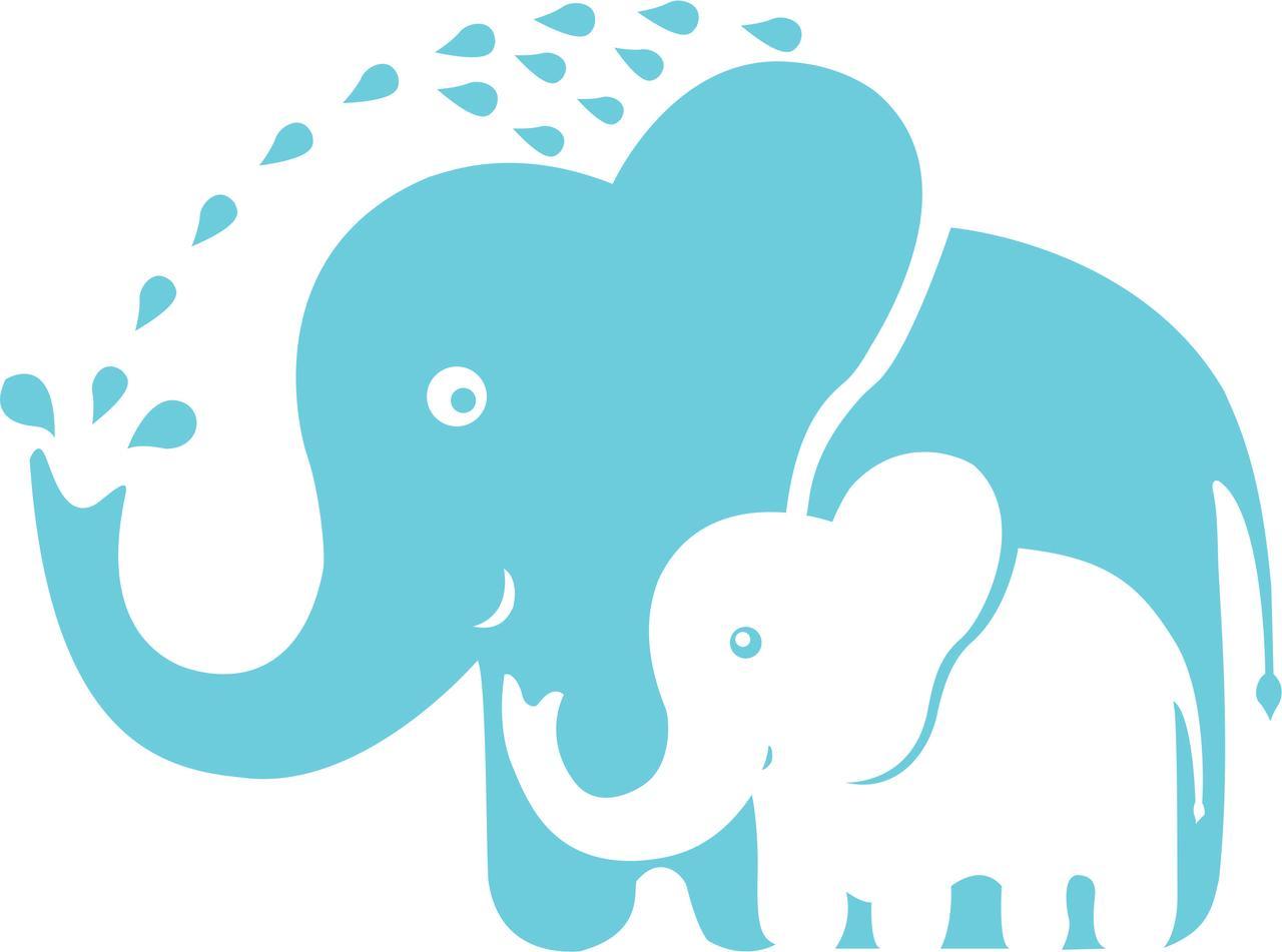 baby elephant nursery room