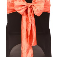 Events By Designer Chair Covers Cover Rentals Nashville Your Crinkle Taffeta Sashes Coral Pack Of 10 For Wedding Party Birthday Patio Etc Walmart Com