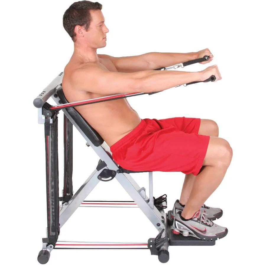 Best Kitchen Gallery: Flex Force 50 In 1 Resistance Chair Gym Plete Workout System of Chair Gym  on rachelxblog.com