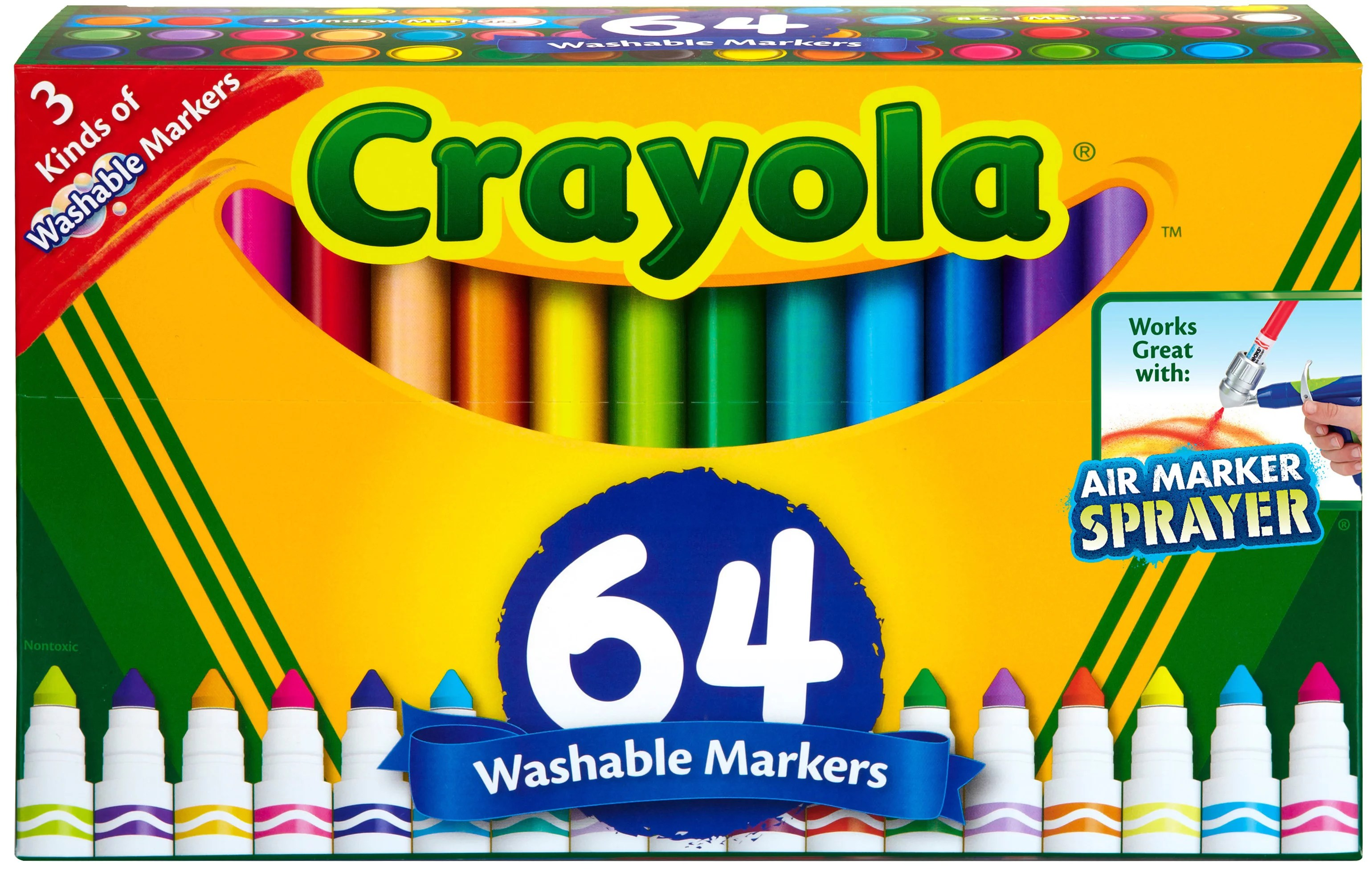Support Stain Tips My First Crayola Washable Paint My First Crayola Washable Paint On Fabric ...