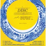 Flatiron Disc Invisible Plate Hanger 4 For Plates Up To 12 300mm Diameter Walmart Com Walmart Com