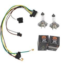 cf advance for 02 05 mercedes benz c230 c320 left or right headlight wiring harness and h7 55w headlight bulb 2002 2003 2004 2005 walmart com [ 1900 x 1900 Pixel ]