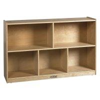 "30"" Birch Storage Cabinet - 5 Compartments - Walmart.com"