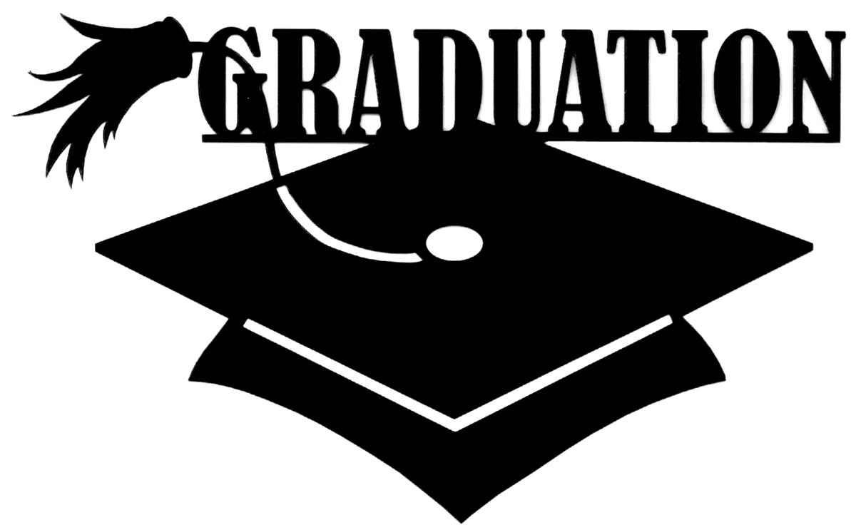 Scrapbook 101 Shape Cardstock Die Cuts Graduation Multi