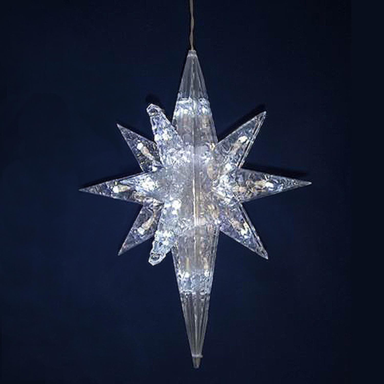 Lighted Christmas Star Decoration