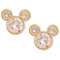 ONLINE - Disney 14k Mickey Cz Stud Earrings - Walmart.com