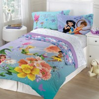 Disney Tinkerbell Fairies Fantasy Floral Twin/Full ...