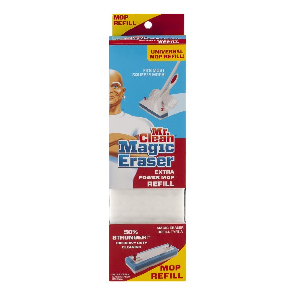 Clean Magic Eraser Extra Power Mop Refill 1
