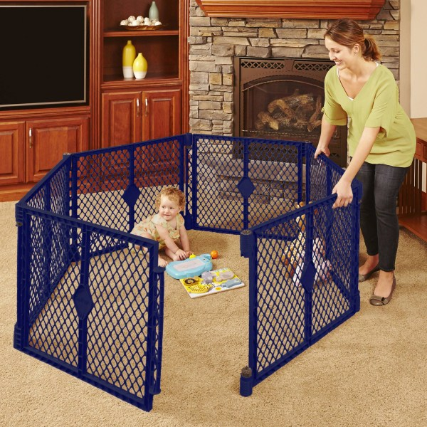Toddleroo North States Superyard Classic 6-panel Play Yard Portable Indoor-outdoor