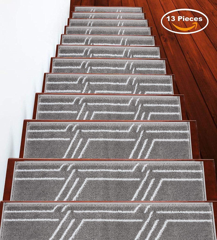 Stairs Treads Anti Slip Stair Treads Non Slip Stair Treads   Indoor Carpet Stair Treads   Oak Valley   Rug Indoor   Indoor Outdoor   Mat   Stair Runner
