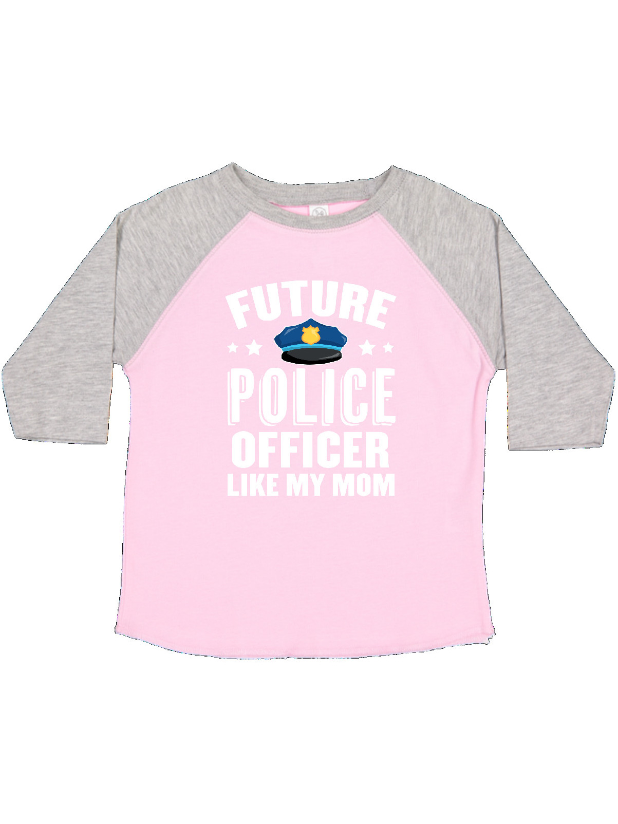 Future Police Officer Like My Mom Toddler T Shirt
