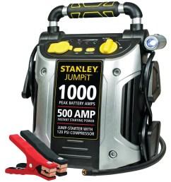 stanley j5c09 1000 peak jump starter with air compressor walmart com [ 1500 x 1500 Pixel ]