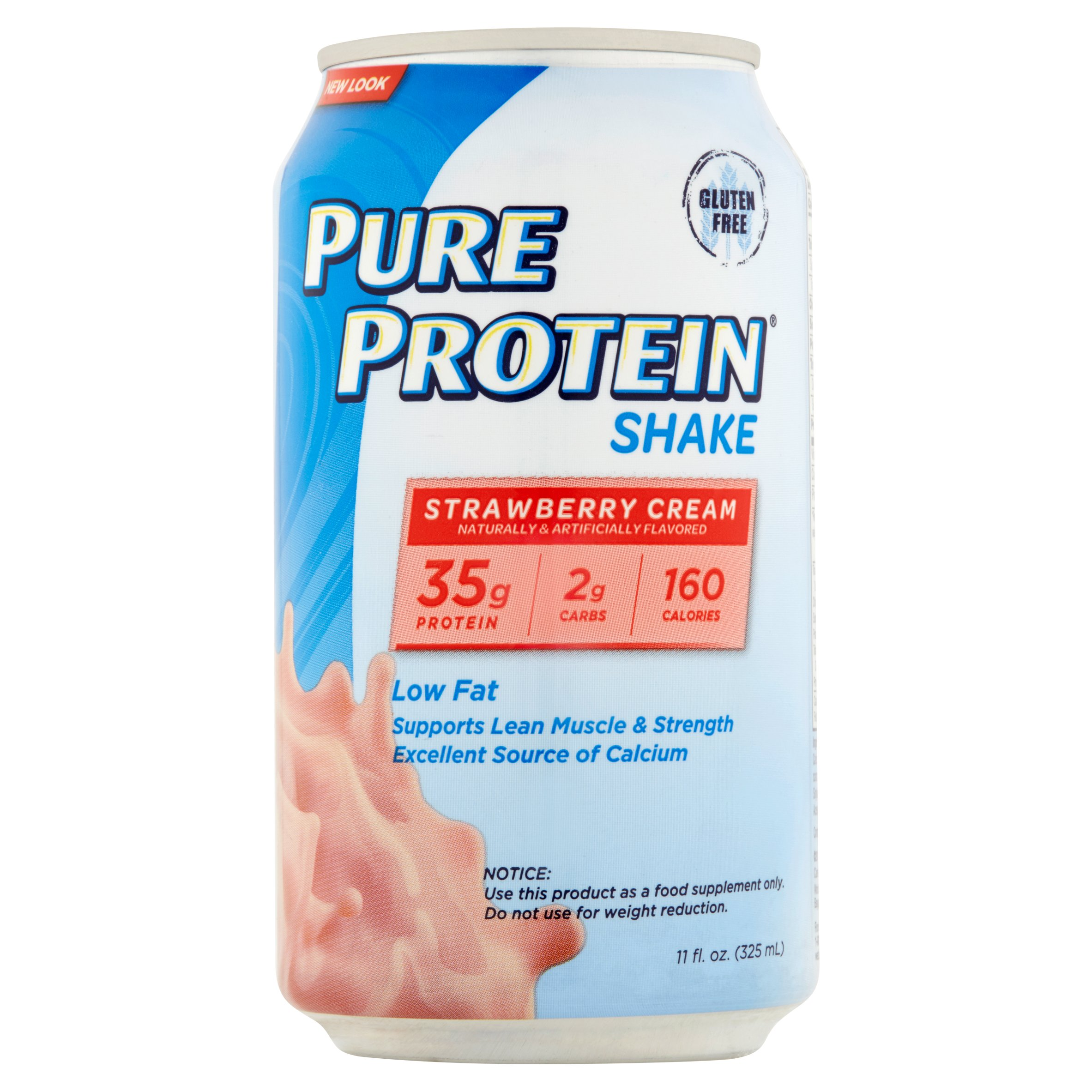 Pure Protein Strawberry Cream Protein Shakes 11 fl oz 12