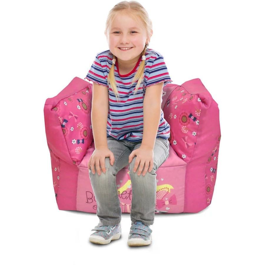 minnie mouse chair walmart design materials square bean bag com