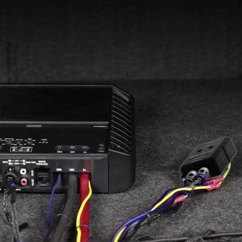 small resolution of scosche loc2slsd car stereo 2 channel adjustable amplifier add on adapter walmart com
