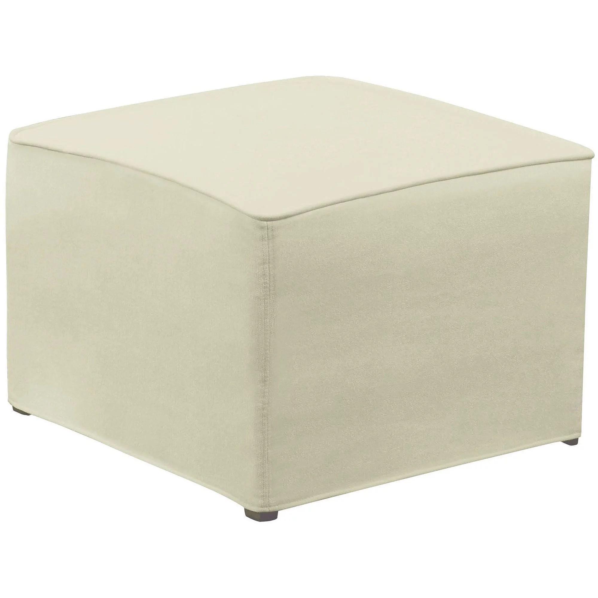 dorel rocking chair diy wooden seat replacement with ottoman beige walmart com