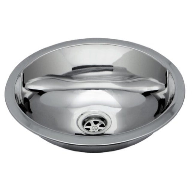 ambassador marine oval stainless steel round bottom brushed finish sink 13 14 inch long x 10 12 inch wide x 5 14 inch deep