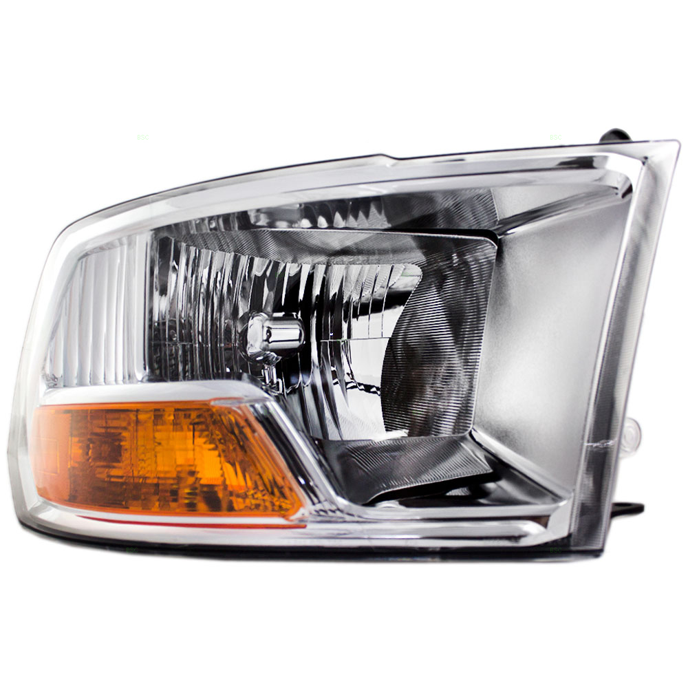 hight resolution of passengers headlight headlamp replacement for dodge pickup truck 55277410af walmart com
