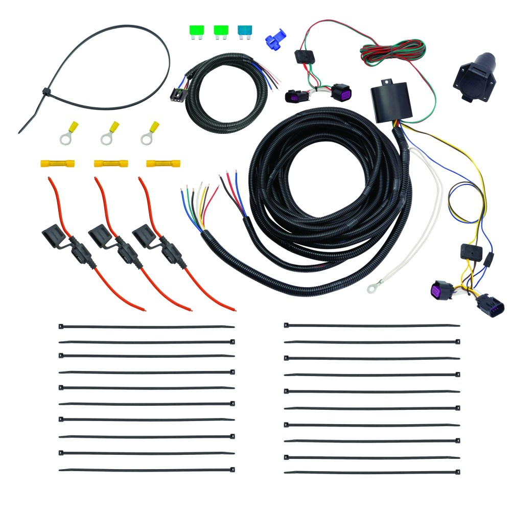 medium resolution of tekonsha 22112 trailer wiring connector replacement oem tow package wiring harness 7 way