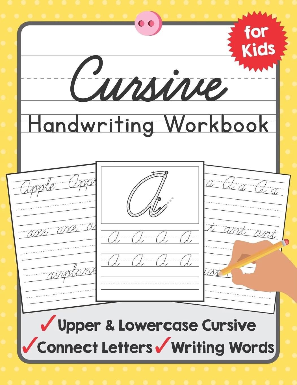 Tuebaah Handwriting Workbook Cursive Handwriting Workbook