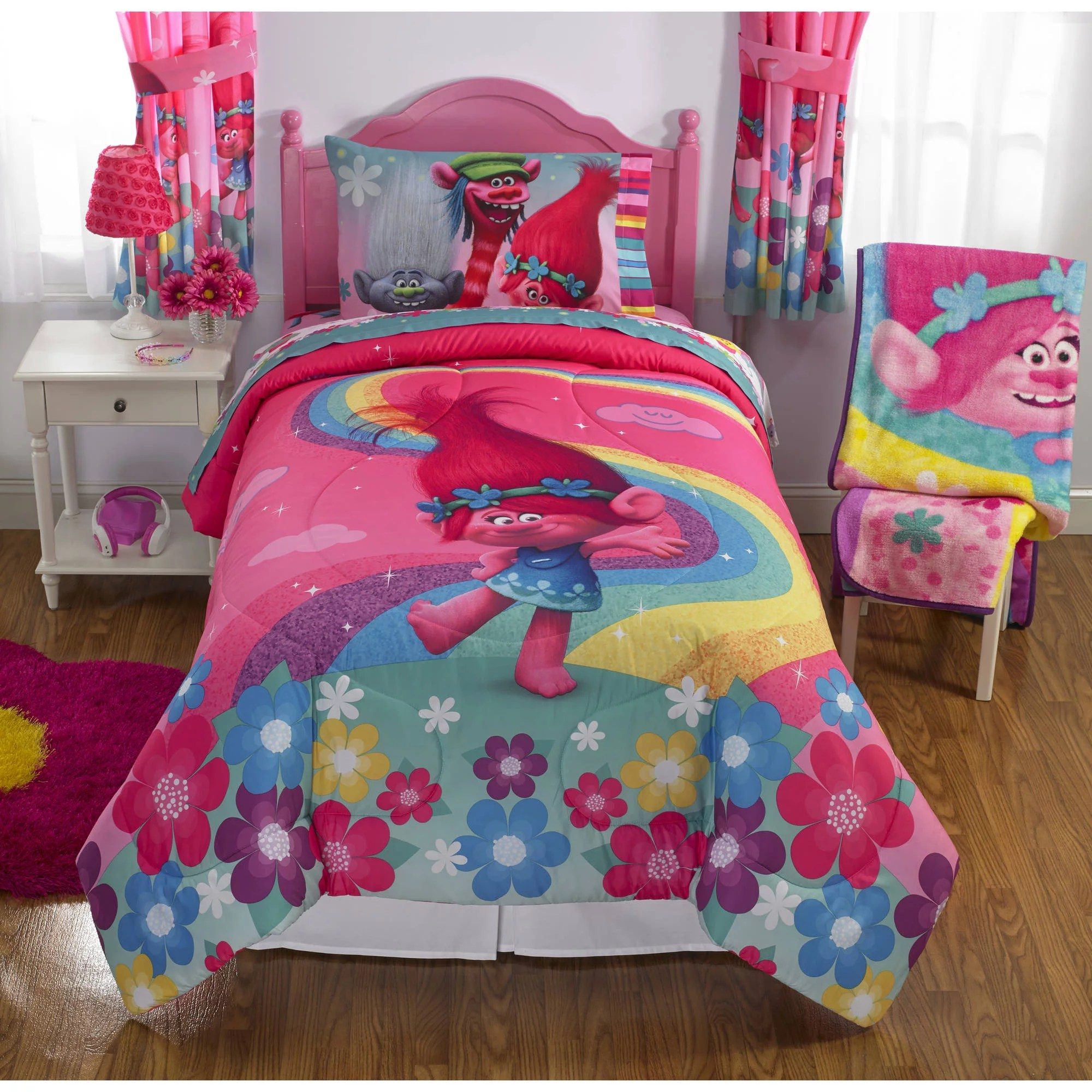 Your Choice Kids Bedding Comforter with Sheet Set Included Shopkins Frozen Paw Patrol Peppa
