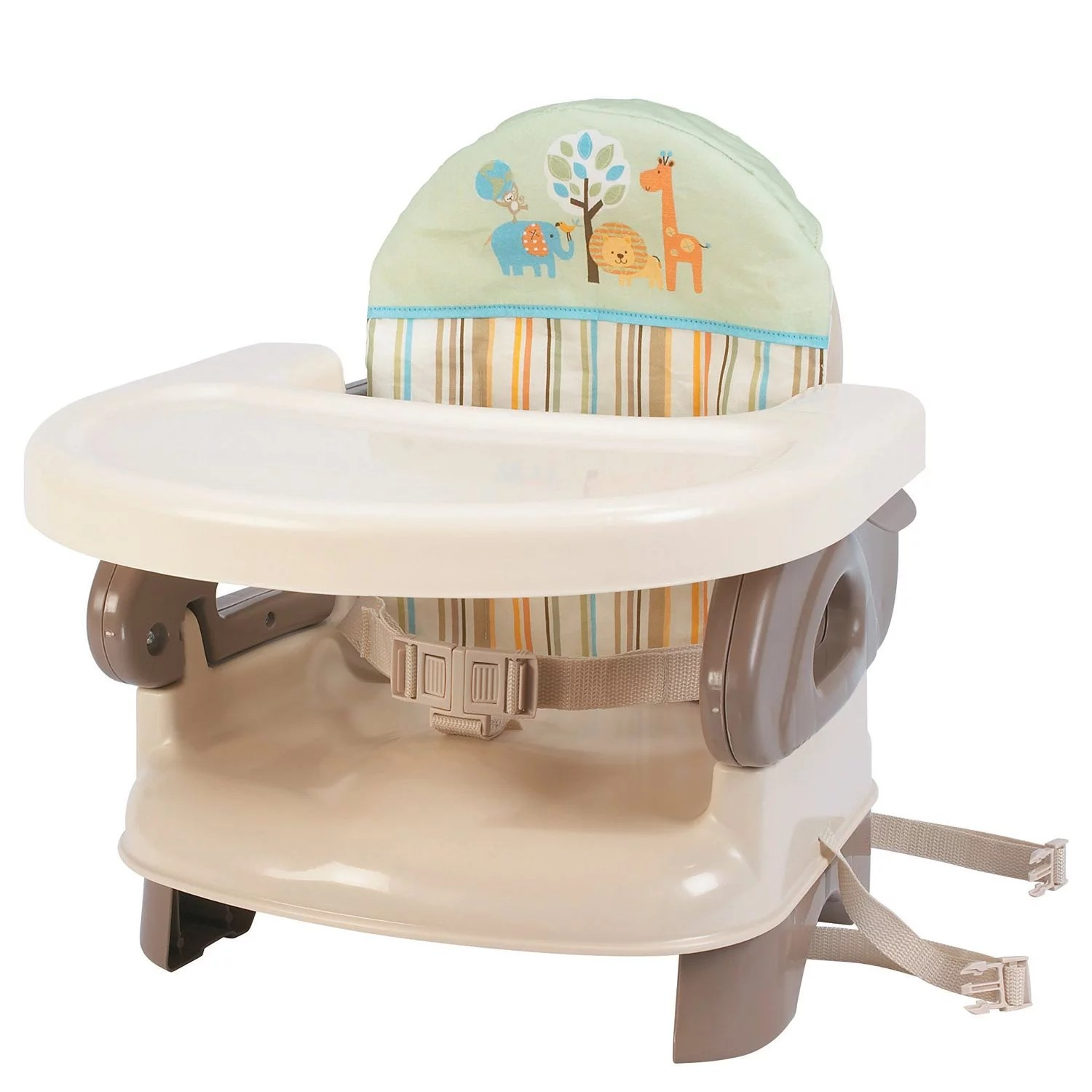 Booster High Chair Seat Summer Infant Deluxe Comfort Folding Booster Seat Tan