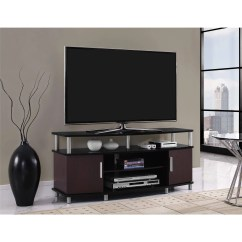 Tv Stand Living Room Interior Decor Photos Carson For Tvs Up To 50 Multiple Finishes Walmart Com
