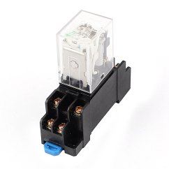 24v Relay Wiring Diagram 5 Pin Coleman Furnace Gas 24 Volt 8 Best Library Hh52p Dc 12v Coil Power Dpdt 35mm Din Rail Mounted W Rh Walmart