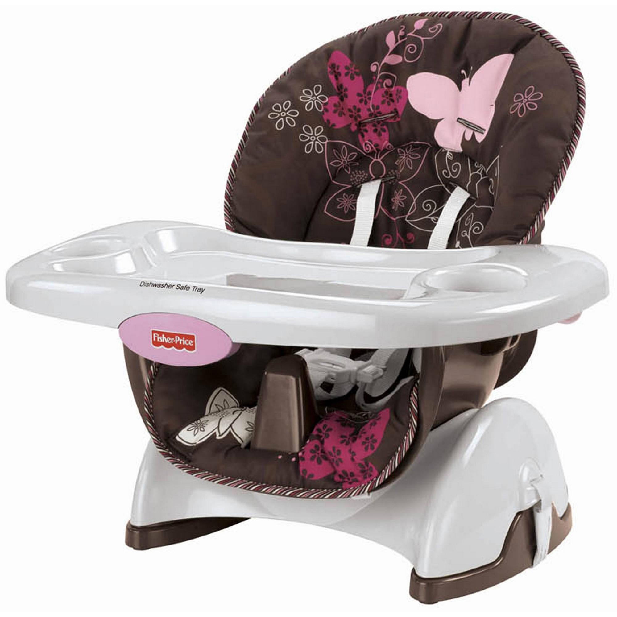 FisherPrice  SpaceSaver High Chair Mocha Butterfly