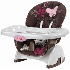 Fisher Price High Chair Seat Girls Fisher-price - Space-saver Chair, Mocha Butterfly Walmart.com