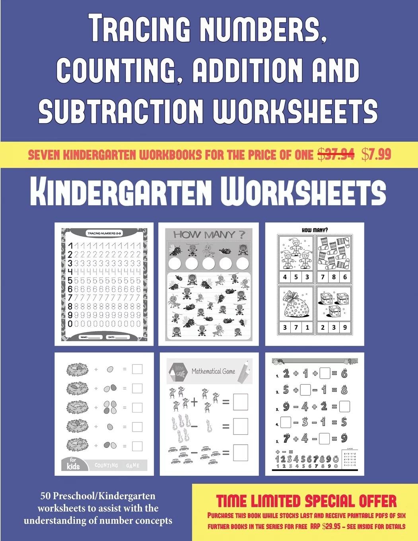 Kindergarten Worksheets Kindergarten Worksheets Tracing