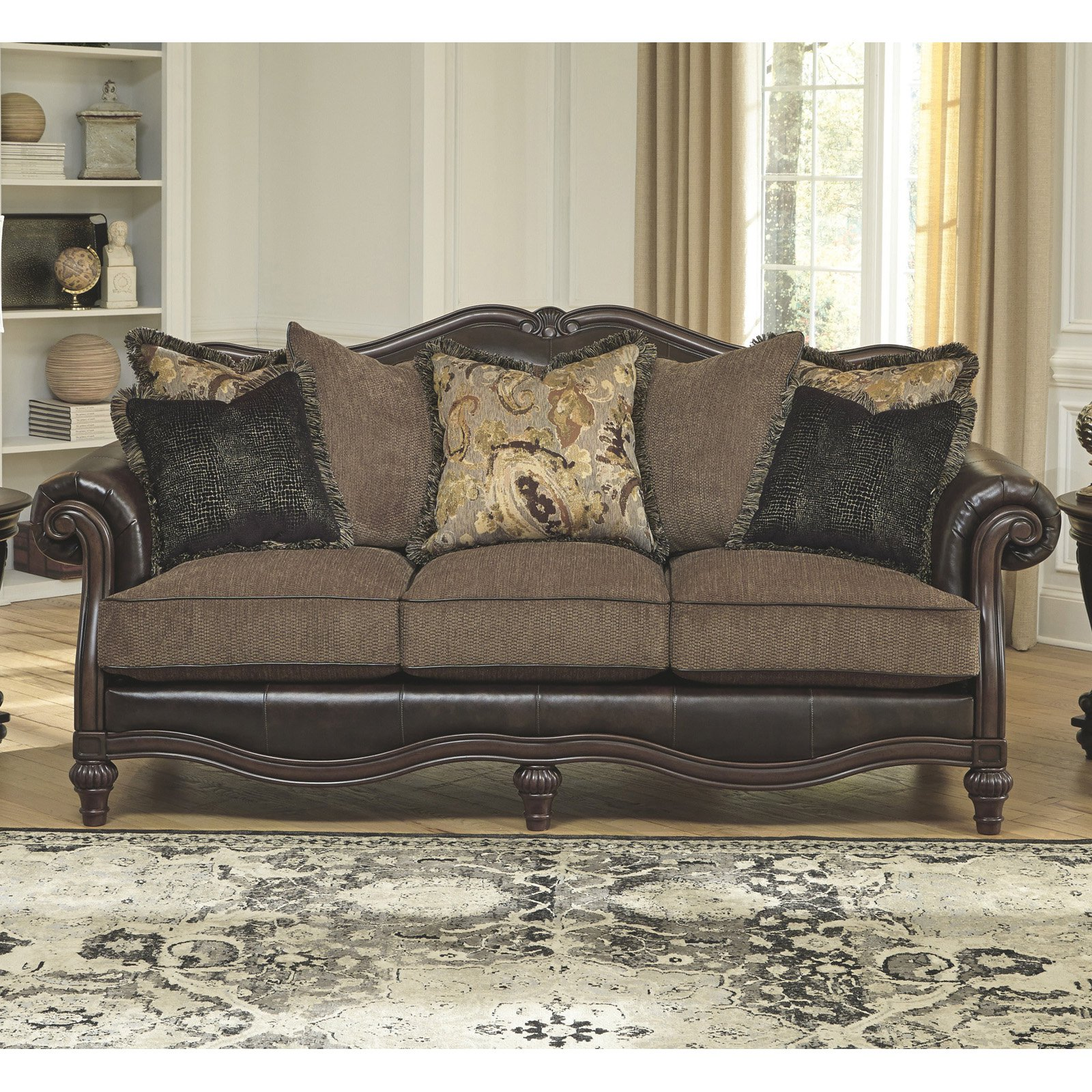 durablend sofa microfiber sets signature design by ashley winnsboro walmart com
