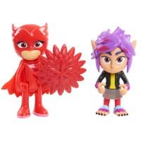PJ Masks Hero & Villain 2pk - Basic Owlette and Wolfie RIP ...