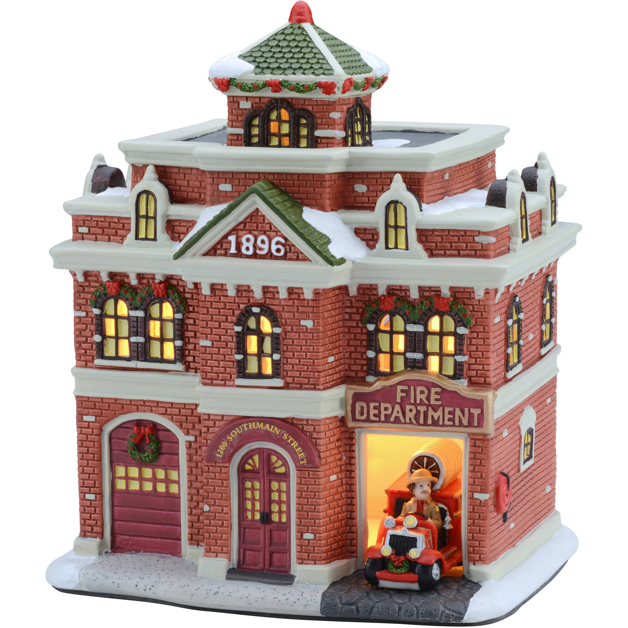Christmas Village Houses Walmart