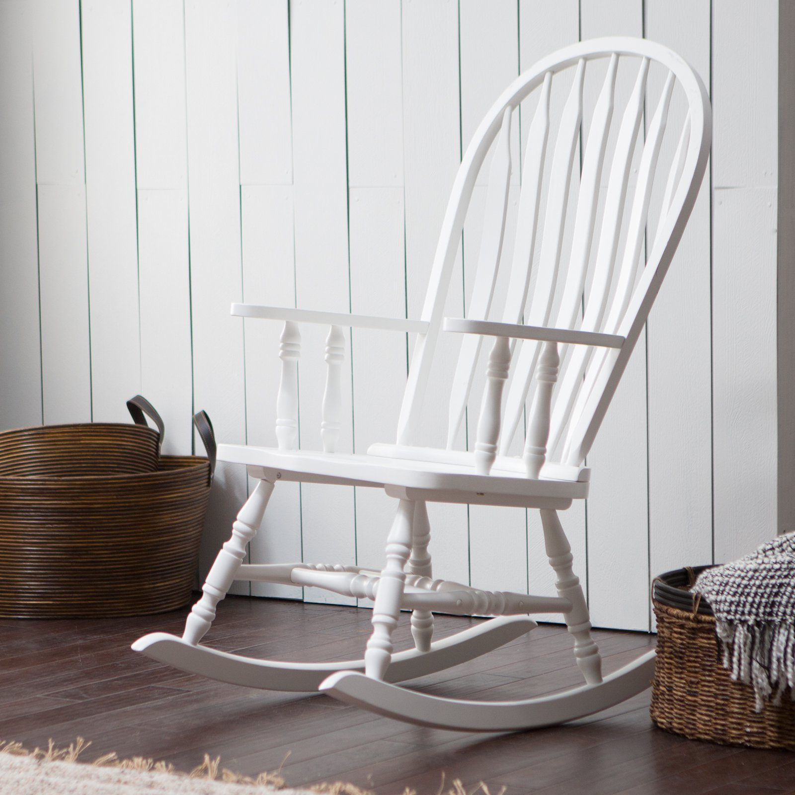white wood rocking chair table and rentals long island belham living windsor indoor 8211 walmart com