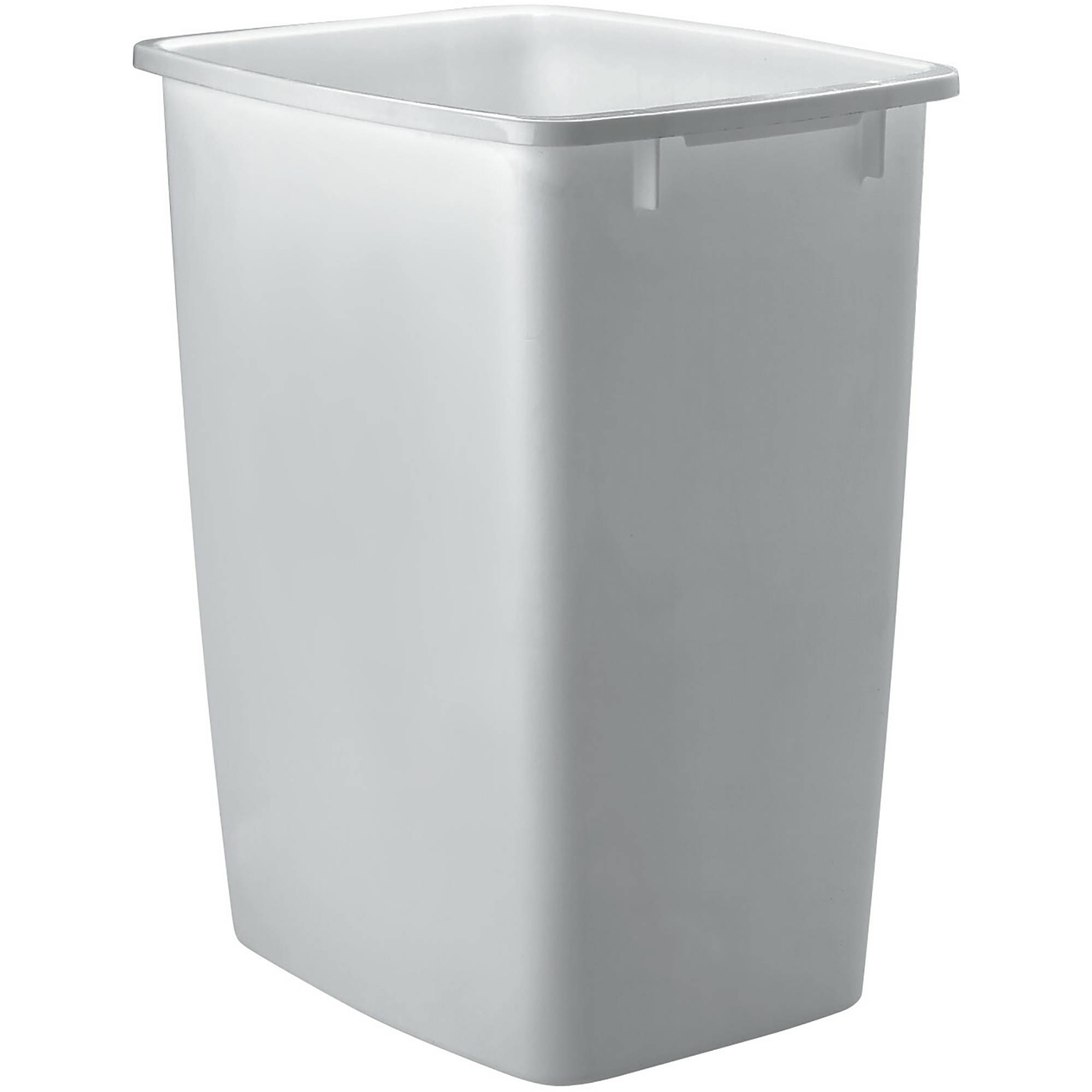 rubbermaid kitchen trash cans movable cabinets 36 qt 9 gal plastic wastebasket walmart com