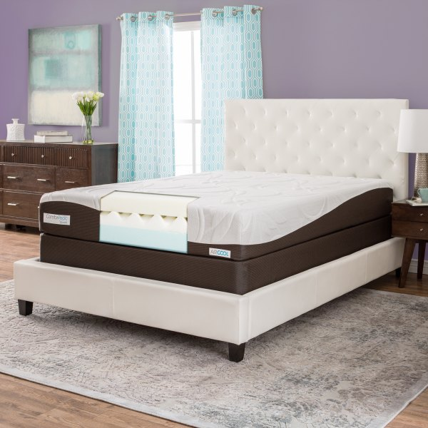 Simmons Beautyrest Comforpedic 10- Twin-size Memory Foam Mattress Set