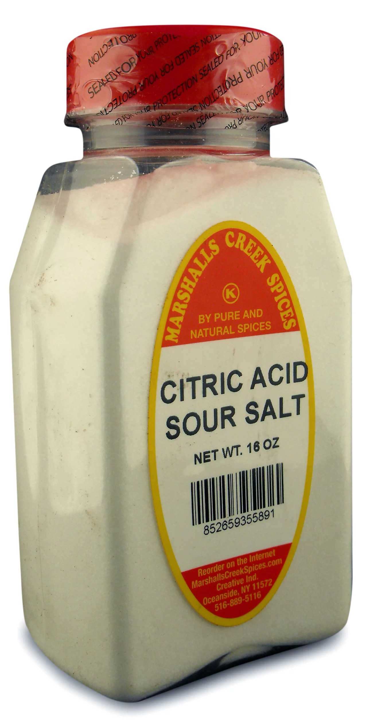 Marshalls Creek Spices SOUR SALT CITRIC ACID 16 ounce ...