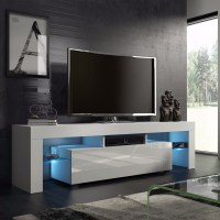 White Nordic Fashionable Design Home Living Room TV ...