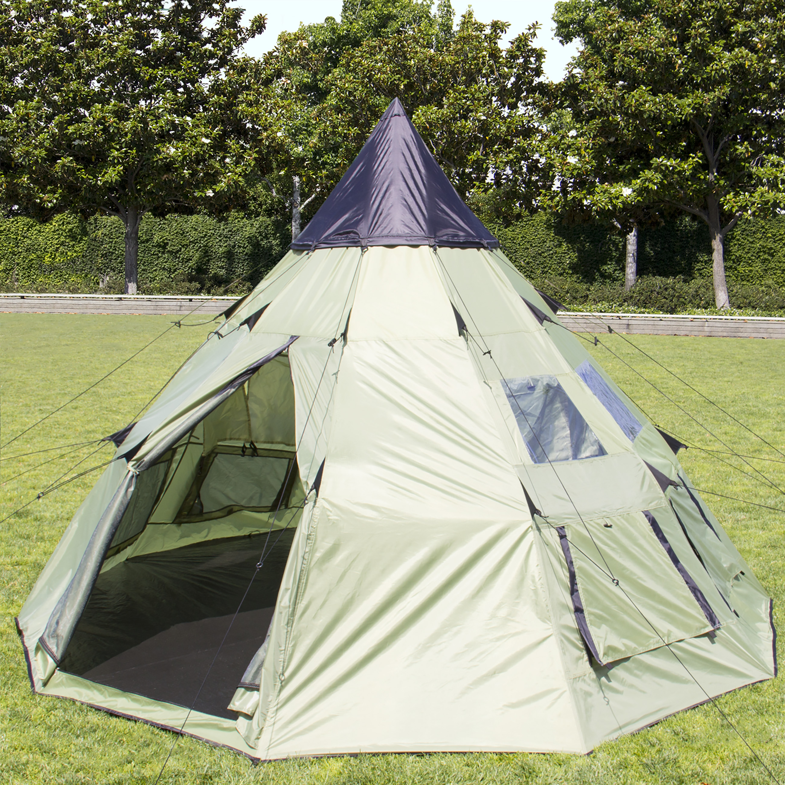 Best Choice Products BCP 10x10 Teepee Camping Tent