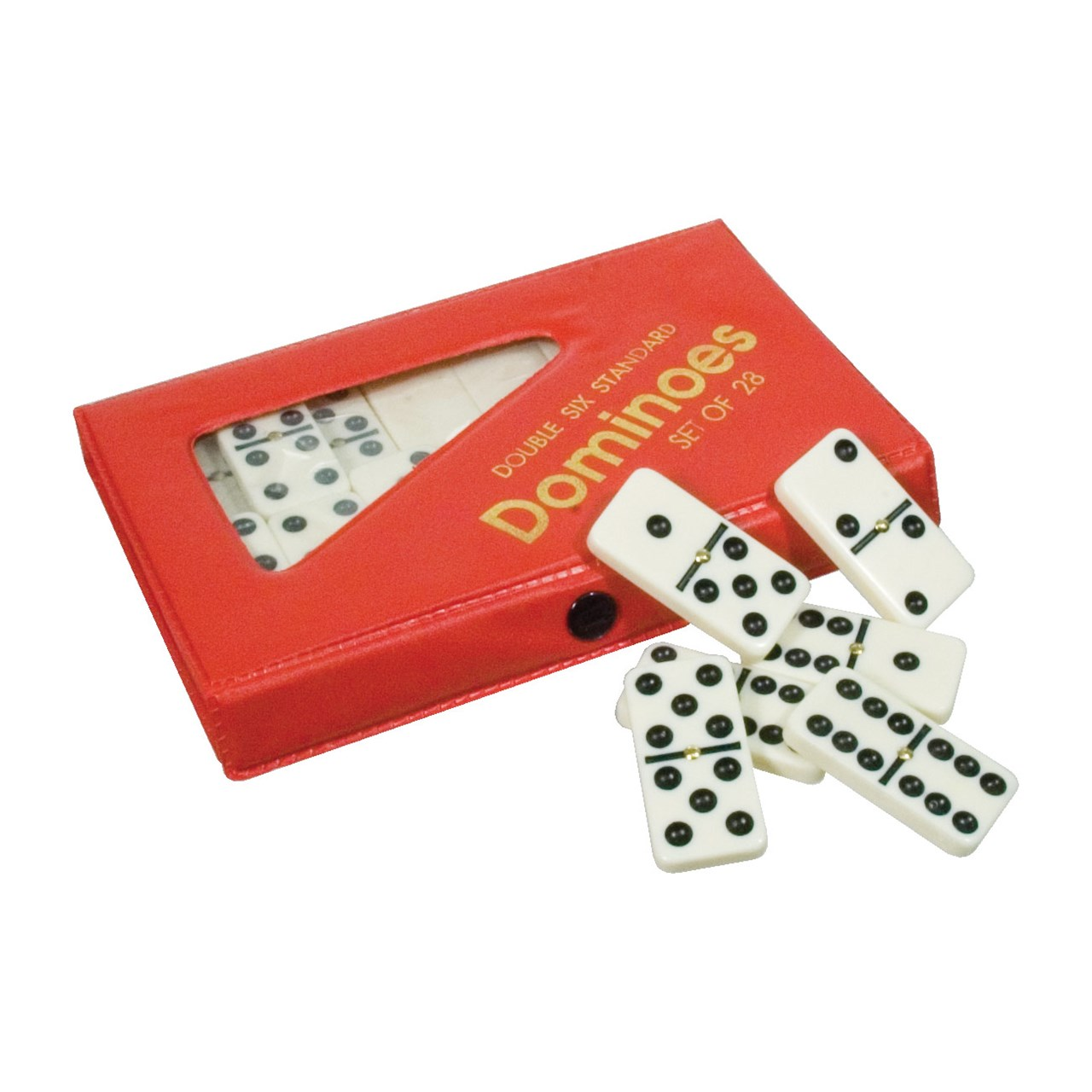 Tactile Double-6 Dominoes - Walmart.com