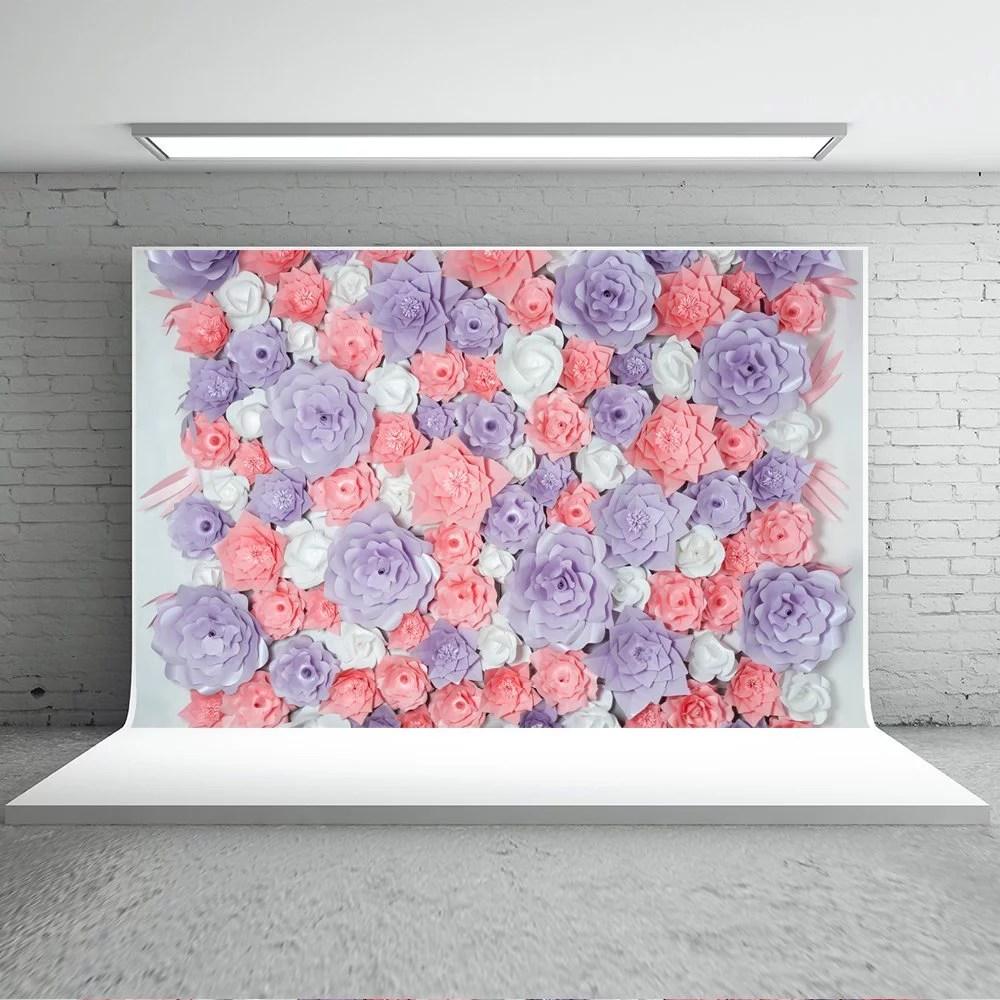 greendecor polyester fabric 7x5ft
