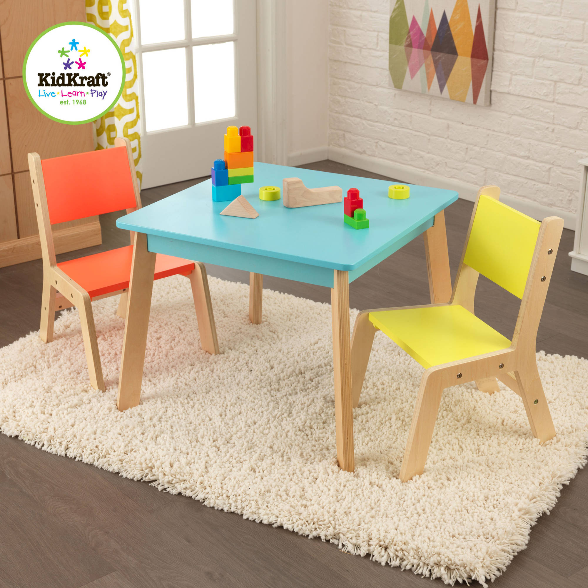 walmart table and chair set dining styles names little tikes multiple colors