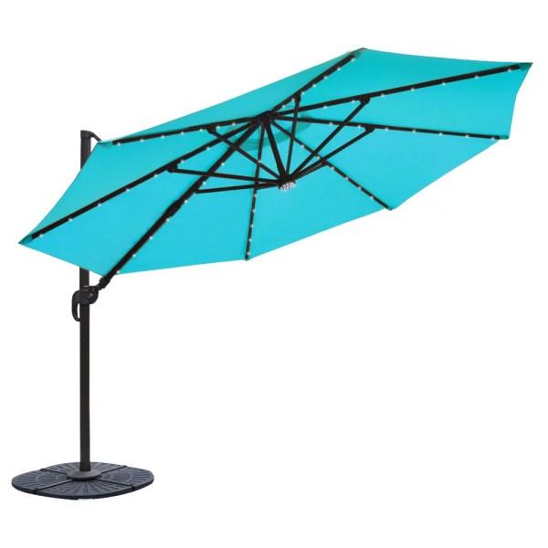 Ultimate - 11.5 Ft Solar Cantilever Umbrella