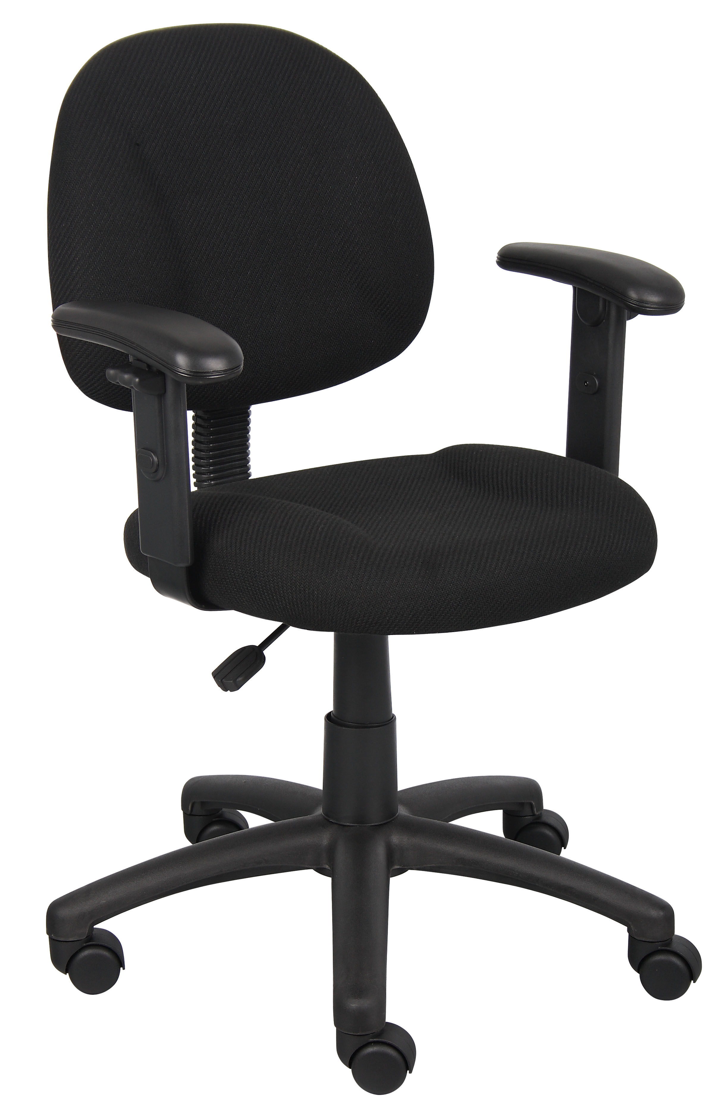 posture deluxe chair dicks sporting goods chairs boss office home black perfect task with adjustable arms walmart com