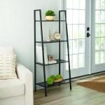 Mainstays 58 4 Shelf Metal Ladder Bookcase Walmart Com Walmart Com