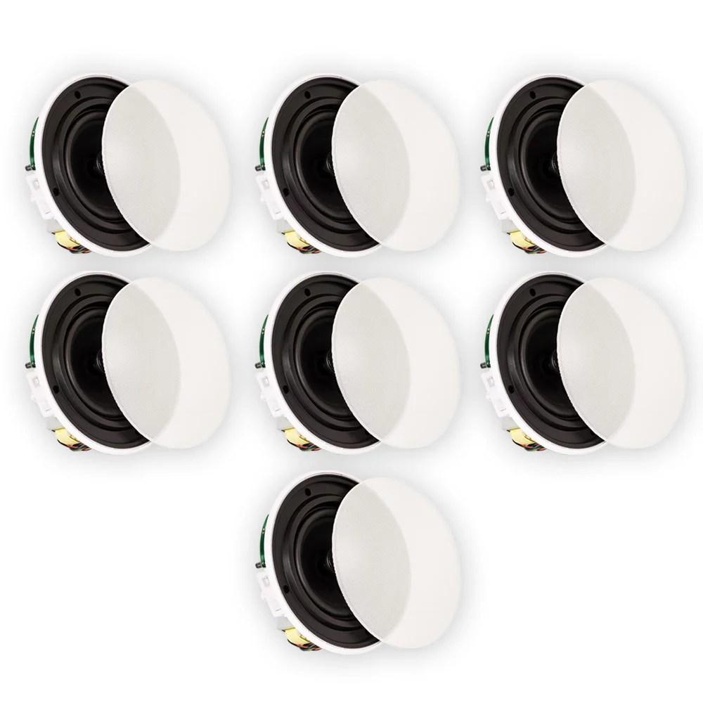 volt speakers canada goose decoy spread diagrams theater solutions tsq670 in ceiling 70 6 5 quick install 7 speaker set walmart com