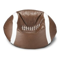 Football Bean Bag Chair Best Desk For Lower Back Pain Ace Casual Furniture Walmart Com