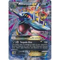 Pokemon Card New Mega M Sharpedo EX